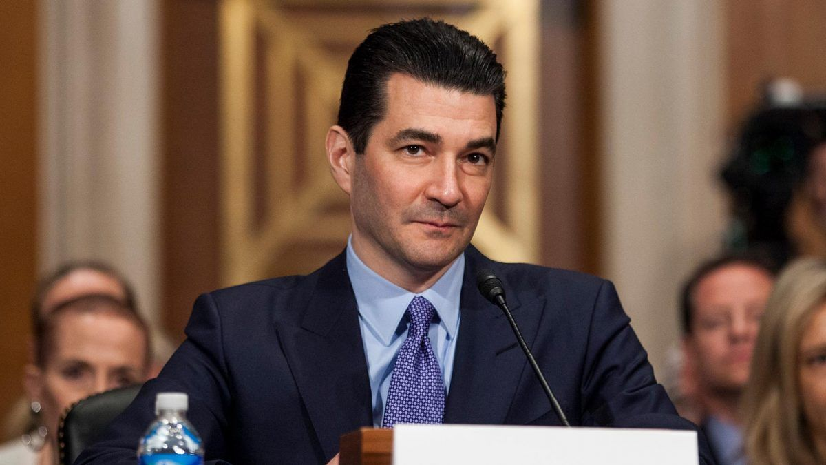 Fda Advisers Ban Use Of Behavior >> Scott Gottlieb Is Not A Free Market Firebrand Reason Com