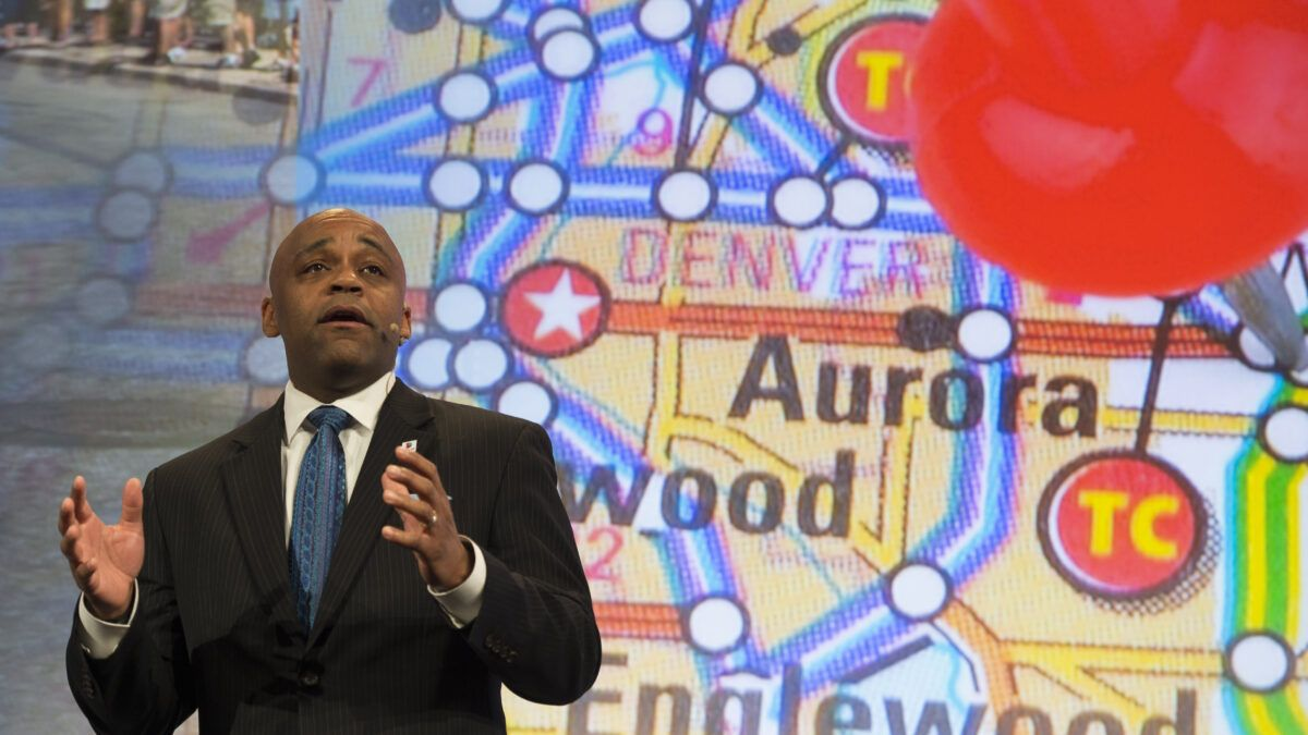 Denver Mayor Michael Hancock Urged People Not to Travel for Thanksgiving Shortly Before Boarding His Flight