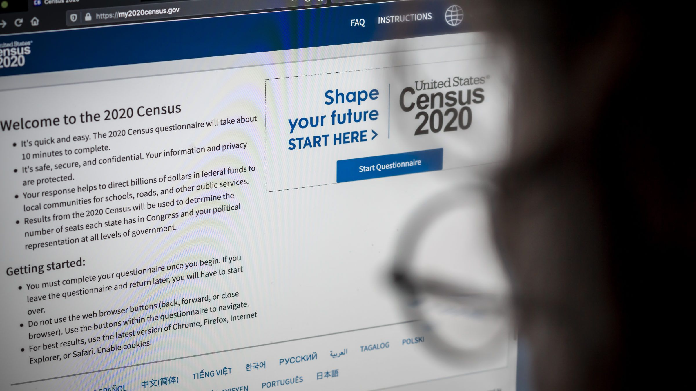 REASON – Tear Up Your Census Form for a Better America