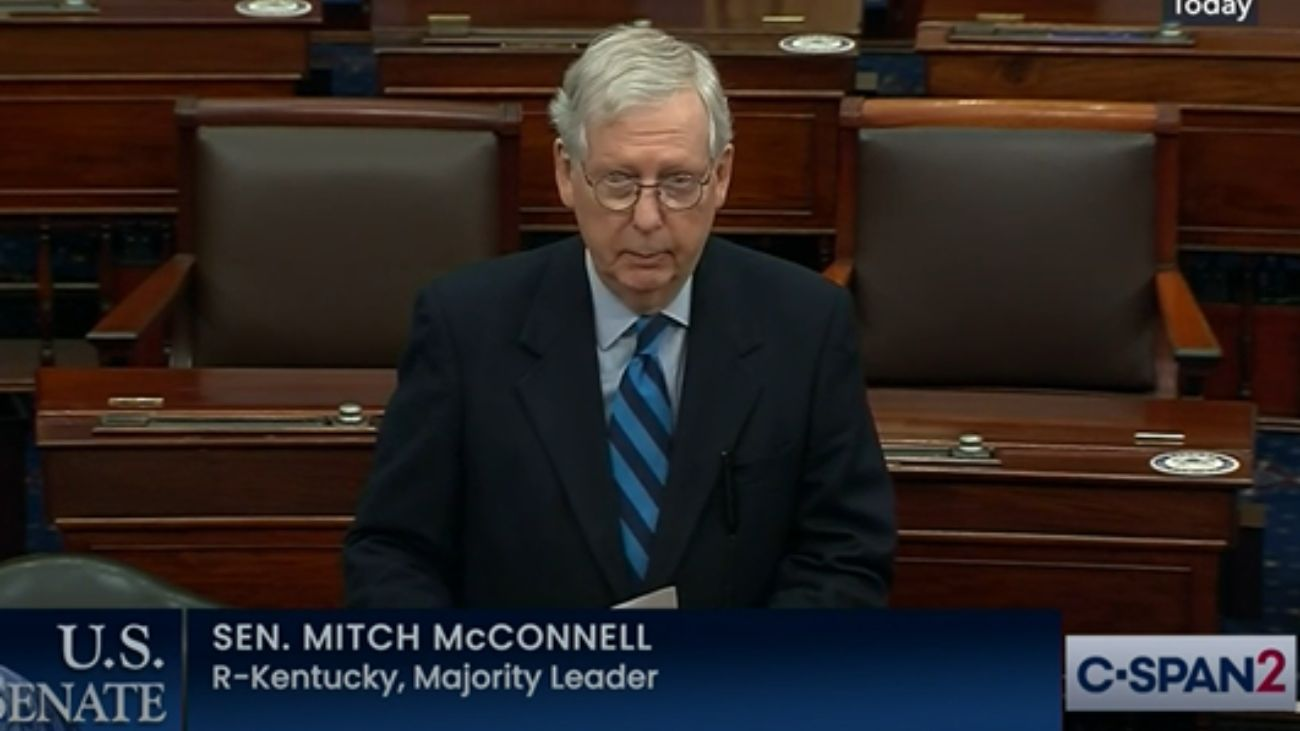 REASON – Saying Trump 'Provoked' the Capitol Riot With 'Lies,' Mitch McConnell Tries To Distance His Party From a Dangerous Demagogue