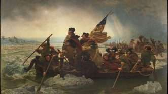 Washington Crossing the Delaware 2