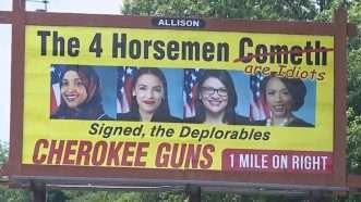 4 horsemen billboard