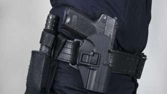 Police Gun Holster