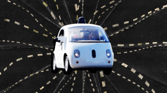 Self-driving Waymo