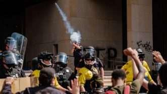 Tear Gas Cleveland