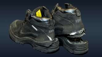Richard-Reid's-shoes-FBI