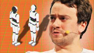 George Hotz with robots