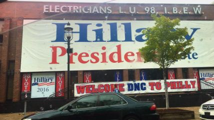 Hillary Historically Adequate in DNC Speech, Demonstrators Held in