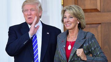 Betsy Devos Trumps Education Pick Plays >> Betsy Devos Prefers Education Choice Over Crappy Government Schools
