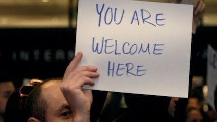 What We Saw at the #MuslimBan Protest at LAX – Reason com