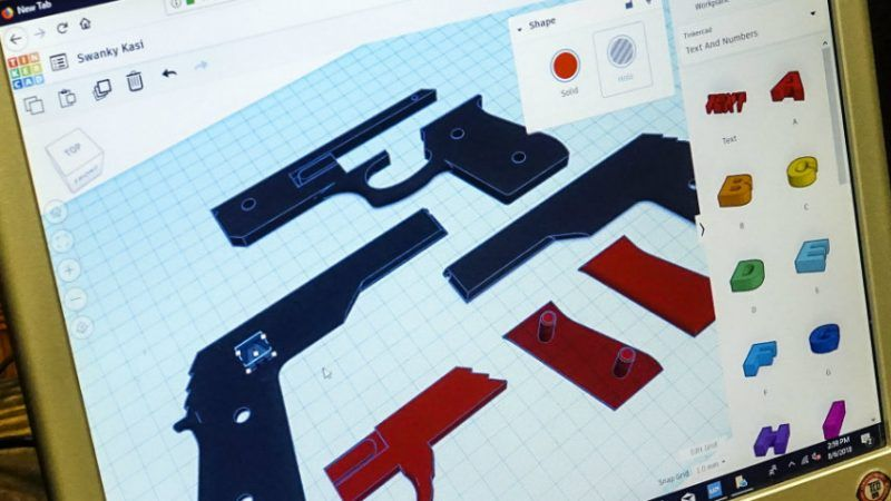 Makers of 3D-Printed Guns Follow In DIY Tradition of