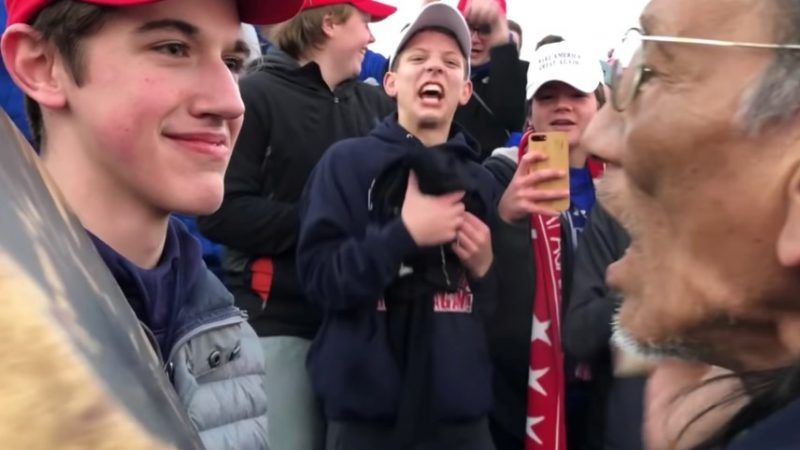 641a62cd9889a Twitter Suspends User Who First Spread Covington Catholic Video ...