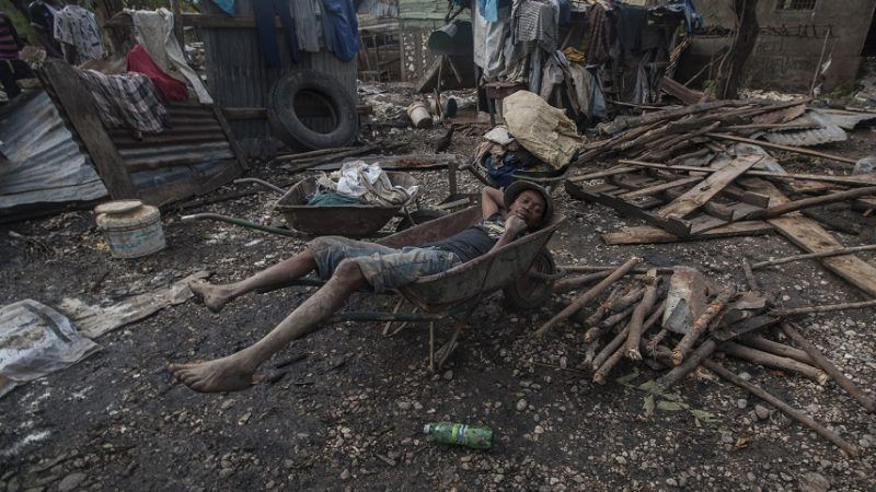 If You Think Haiti Is a Shithole, Then Blame America for