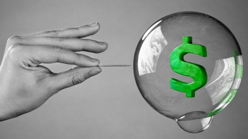 How Big Is Bubble Big Enough To Crash >> When The Bubble Bursts We Re So Screwed Reason Com