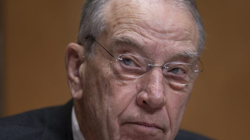 Grassley to Trump: End the Tariffs or We'll Kill Your NAFTA Rewrite