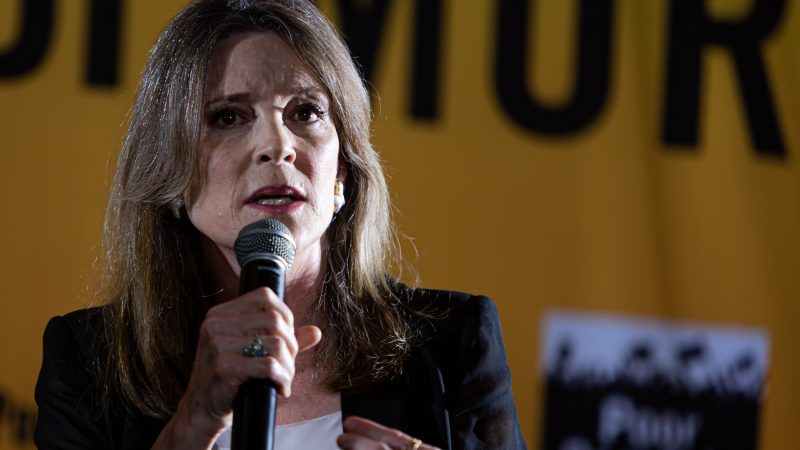 Marianne Williamson stuns with freaky performance at Democratic presidential debate