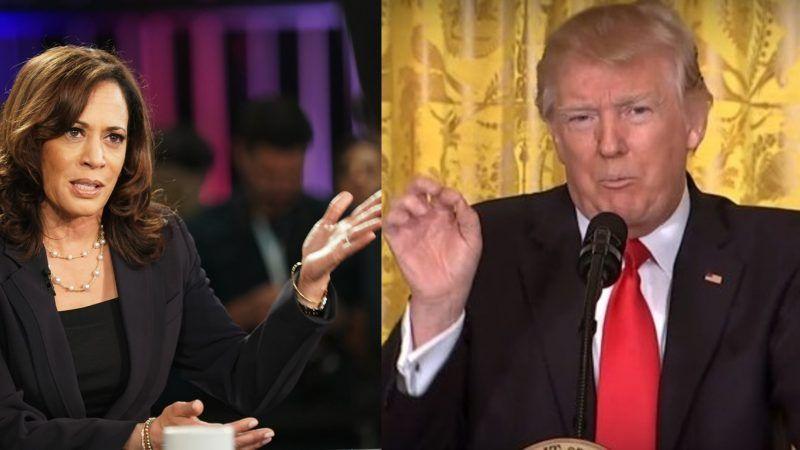 Harris-and-Trump