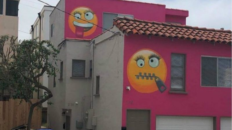 Neighbors Claim Los Angeles 'Emoji House' Is 'Bullying,' Demand New
