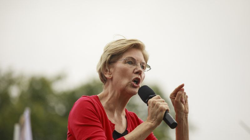 Elizabeth Warren raises $24.6 million in third quarter