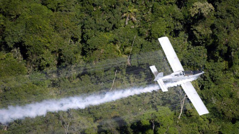 Aerial Fumigation
