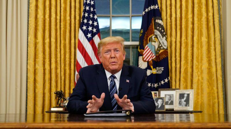 TrumpCoronavirusSpeechNewscom