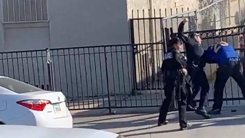 LAPD Officer Frank Hernandez