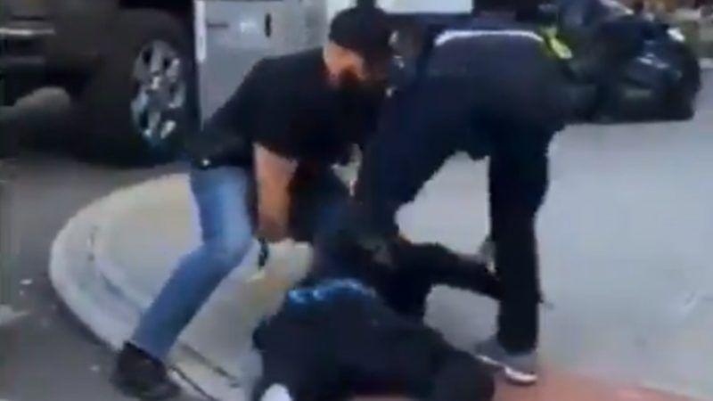NYPD coronavirus arrest