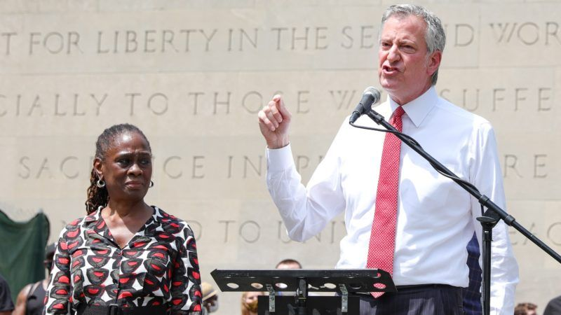 Bill-de-Blasio-George-Floyd-memorial-6-5-20
