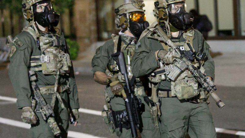 DHS Agents in Portland