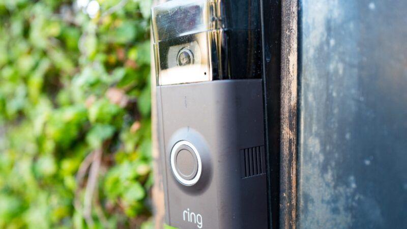 Amazon Ring doorbell camera