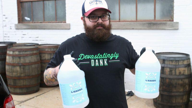 DistillerHandSan