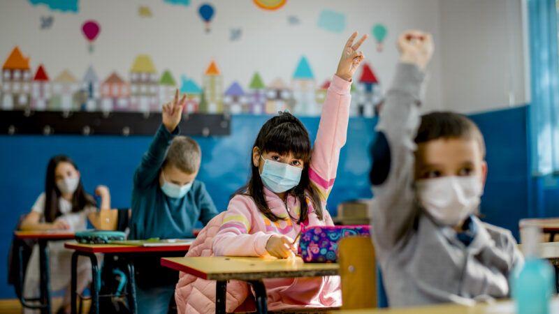 masked-children-in-classroom-iStock