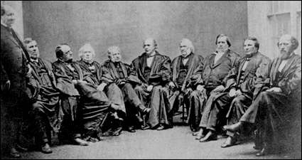 Today in the History of the Supreme Court: July 17, 1862