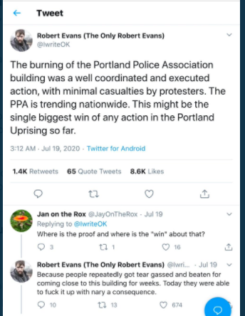 You Re Not Allowed To Film The Fight To Control Who Reports From Portland Reason Com