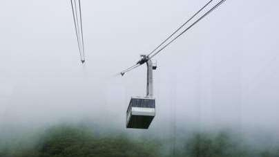 "In Arabic an elevated gondola is called a ""Telefreak."""