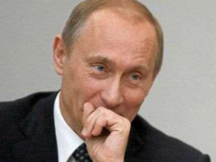 Putin Laughing