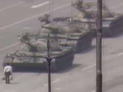 Tank Man, 26 years later.