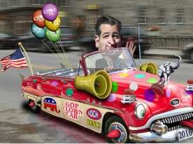 Ted Cruz Clown Car