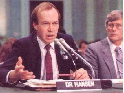 JamesHansenCongress1988NASA