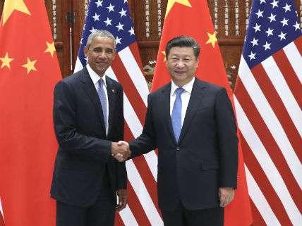 ObamaXiHangzhouPang Xinglei XinhuaNewsAgency/Newscom
