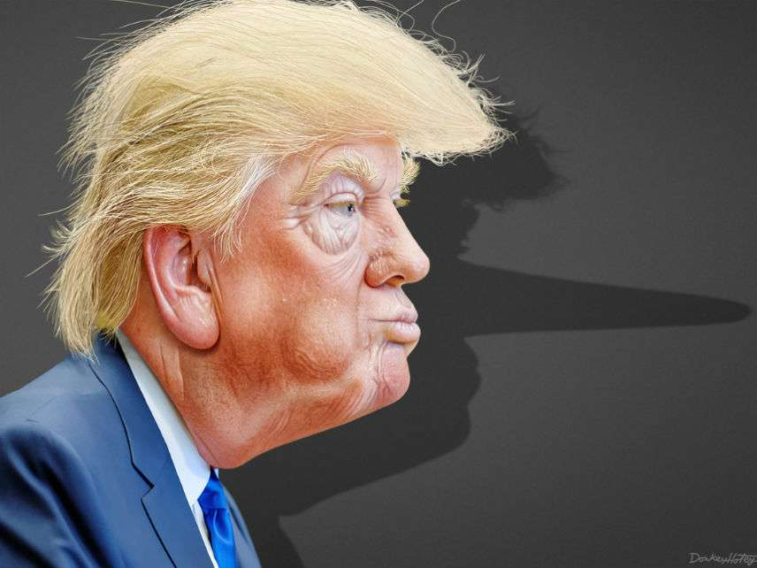 Trump Pinnochio
