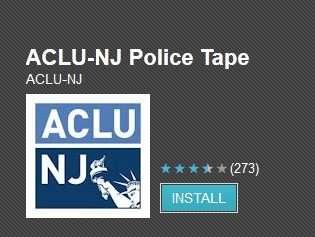 ACLU-NJ Police Tape