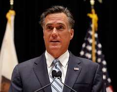 Nice poker face there, Mitt