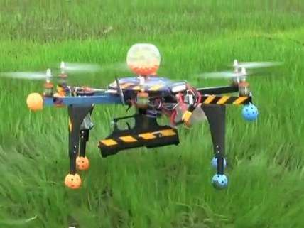 DIY armed drone