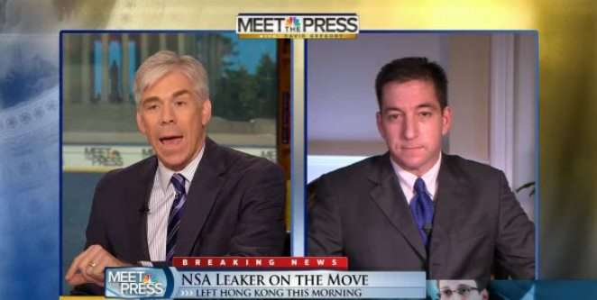 Gregory vs. Greenwald on Meet the Press