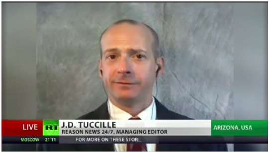 J.D. Tuccille on RT