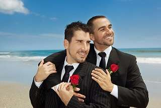 Warning: Initiative does not promise gay weddings will be as pretty as stock photos suggest