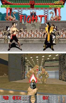 Mortal Kombat and Doom