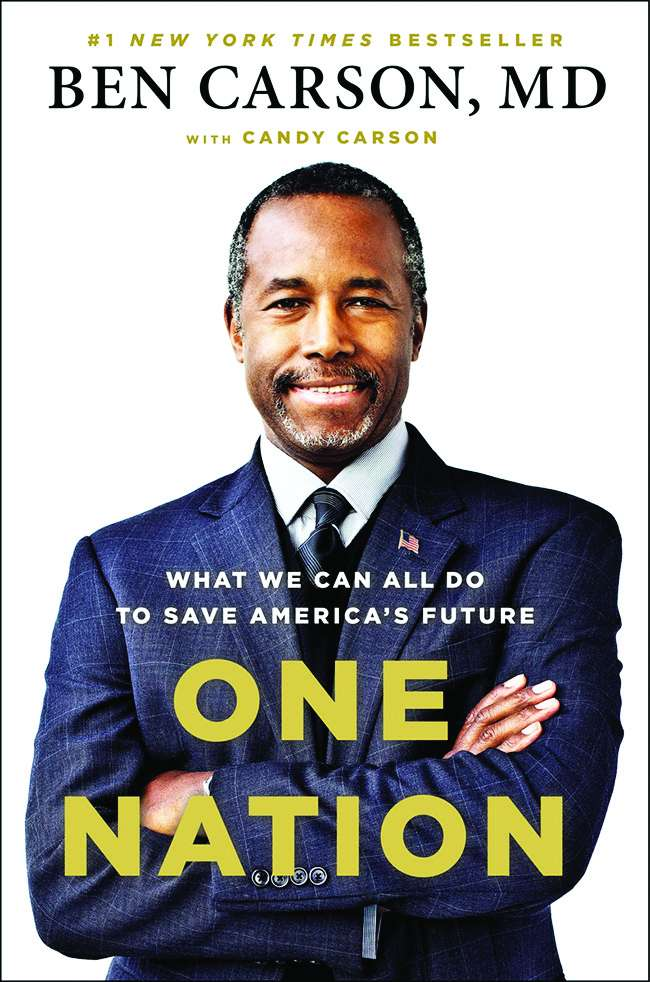 Cover of Ben Carson's book