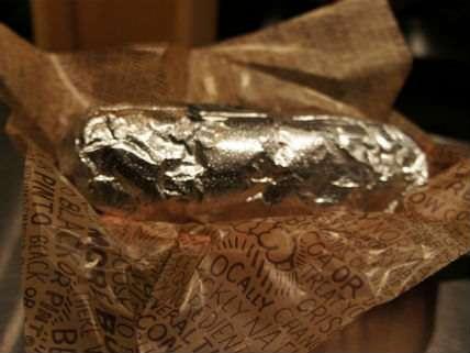 A Chopotle burrito